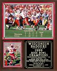 Wisconsin Badgers 1999 Rose Bowl Champions Plaque
