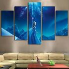 5Pcs Frozen Elsa Disney Modern art Canvas Wall Art Decor Framed