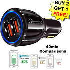 Usb Fast Quick Car Charger Adapter (16w 5912v 31a) For Android Or Iphone