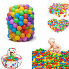 100pcs Colorful Ball Soft Plastic Ocean Ball Funny Kids Swim Pit Pool Toys
