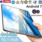 10.1'' 4g+64gb Android 7.0 Tablet Pc Octa Core Wifi 2 Sim 4g Phablet 1600p Lot