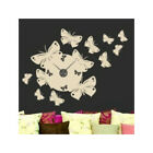 Style and Apply Butterfly Wall Clock Wall Decal