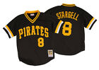 Willie Stargell 1982 Pittsburgh Pirates Authentic Mesh BP Jersey Mitchell