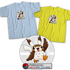 Star Wars x Pokemon Pikachu Porg Cute Bird Movie Last Jedi Unisex Tee T-Shirt $16.2 USD on eBay