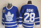NWT Tie Domi Toronto Maple Leafs Jersey CCM Vintage Throwback M L XL XXL NHL