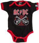 Sourpuss AC/DC Baby Romper Kids Clothing Fully Licenced Product Band Rock n Roll
