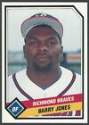 1989 CMC Richmond Braves Minor League Baseball card - Pick your player