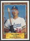 1990 ProCards Charleston Rainbows Minor League Baseball card - Pick your player
