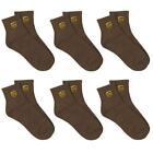Kyпить 6 PAIR PACK UPS LOGO UNITED PARCEL SERVICE DRIVER BROWN ANKLE LENGTH SOCKS на еВаy.соm