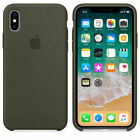 Original Hard Silicone Case Cover for Apple iPhone XS/MAX XR X 8 7 6s 6 Plus OEM