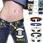 Womens Mens Buckle-Free Elasticated Belts Jean Pants Comfortable  Belts