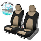 Waterproof Neoprene Sideless 2 PC Seat Cover Set - Armrest and Airbag Compatible $22.5 USD on eBay