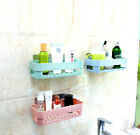 Suction Cup Bathroom Kitchen Shelf Wall Mounted Soap Dishes Toilet Storage Rack
