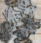 "Texas Clavos 2 1/2"" Cast Iron, Volume Priced Texas Country Design Nail Heads"