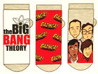 3 Paar Big Bang Theory Sneaker Socken Damen Strümpfe Herren Cartoon 37-42 Lustig