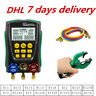 More images of Digital Refrigeration Manifold Gauge Meter HVAC Vacuum Pressure Temperature Kit