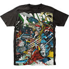 X-Men Wolverine vs Omega Marvel Liscensed Adult T-Shirt