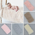 Внешний вид - Prop Newborn Baby Faux Fur Blanket Basket Rug For Backdrop Photo Photography*