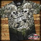 "7.62 DESIGNS ARMY ""NEVER ACCEPT DEFEAT"" T SHIRT PATRIOTS AND MEN OF ARMS MEN'S"