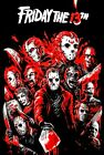 Friday The 13th: Jason Voorhees Custom Art Poster - NEW - 11x17 13x19