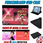 BETTY BOOP PERSONALISED FAUX LEATHER IPAD CASE - All Models £16.95 GBP on eBay