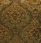 "Chenille Renaissance damask Home Decor Upholstery, Sold By the Yard, 58""  wide"