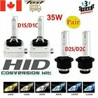2Pcs  35W D1S/D1C D2S/D2C Xenon Car Replacement HID White Headlight Lamps Bulbs $16.27 CAD on eBay