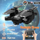 NEW Foldable 5G 4CH GPS RC Drone Attend Me Wifi FPV HD 1080P Camera Quadcopter
