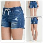 Women's Casual Summer Comfy Shorts With Elastic Waist Band Short pants (S-3XL)