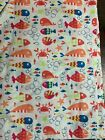 SCRUB TOP SIZES: L, XL FISH CRAB STARFISH OCEAN NWT NURSE MEDICAL CNA VET WORK