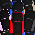 Car Floor Mats 4 Pieces Set Carpet Rubber Backing All Weather Protection on eBay