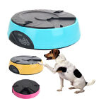 New 3 Color Pet Dog Cat Food 6 Meal Automatic Pet Feeder Water Dishes Fountains