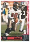 2000 Pacific Omega Football card (1-150) - Pick/Choose your player