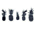 Pineapple Wall Stickers Art Home Decor room NEW Bedroom Rose Gold