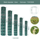 0.9 1.2 1.5m Galvanised Wire Mesh Pvc Coated 15/25/50m Length Garden Fence Stake