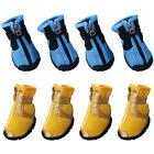 Kyпить 4pcs Dog Shoes Small Large Anti-slip Mesh  Boots Breathable Booties Summer New на еВаy.соm