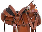 Used Gaited Western Saddle 15 16 17 18 Endurance Pleasure Trail Leather Tack Set