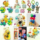 Infant Baby Child Taggies Bright Starts Soft Rattle Attachable Crib Playmat Toy