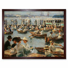 Max Liebermann On The Alster In Hamburg Art Print Framed 12x16