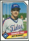 1989 CMC Tidewater Tides Minor League Baseball card - Pick your player