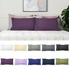 1800 SERIES PILLOWCASES - 2 Pillow Cases Per Set. King Size Standard Size - SALE image