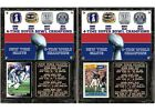 New York Giants 4-Time Super Bowl Champions Card Plaque $27.95 USD on eBay