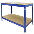 Workbench Garage DIY Work Tools Bench Station Heavy Duty Bench Shed Warehouse
