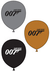 "007 James Bond Printed Latex 12"" Balloons - Events, Parties, Decoration £6.99 GBP on eBay"