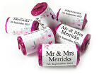 V5_Personalised Mini Love Heart Sweets for Weddings favours, Floral