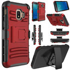 For Samsung Galaxy J2 Core/Shine/Dash/Pure Rugged Armor Holster Clip Case Cover