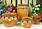 Vintage Style Terracotta Plant Pots Indoor Planter Vase  Decor Display Ornament