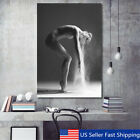 Nordic Art Dancing Girl Canvas Print Painting Home Wall Poster Decor