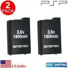 New Replacement 3.6V 1200mAh / 1800mAh Battery Set For Sony PSP 1000 2000 3000