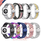 38/42mm Stainless Steel Band Strap Bracelet For iWatch Wrist Band   Series 1 2 3 image